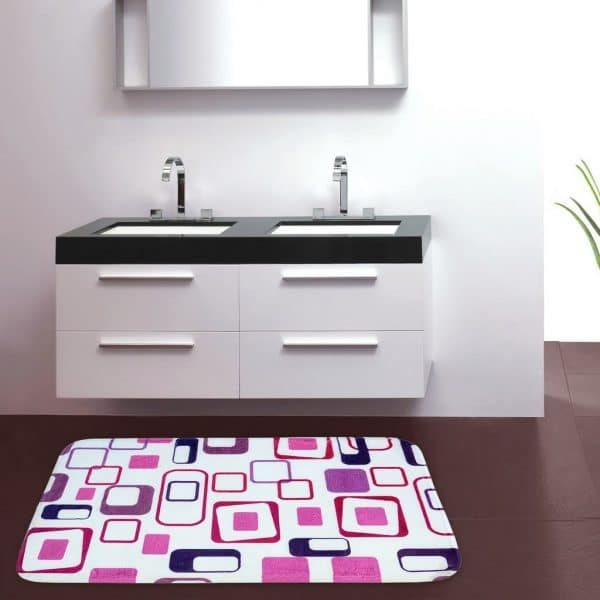 New Square Theme Extra Large Door/Bath Mats online