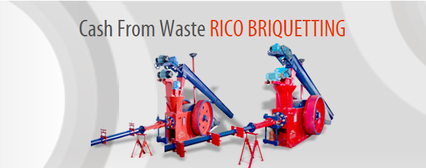 Cash From Waste RICO BRIQUETTING