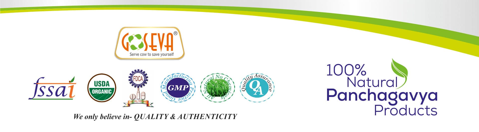 Quality and Authenticity Products